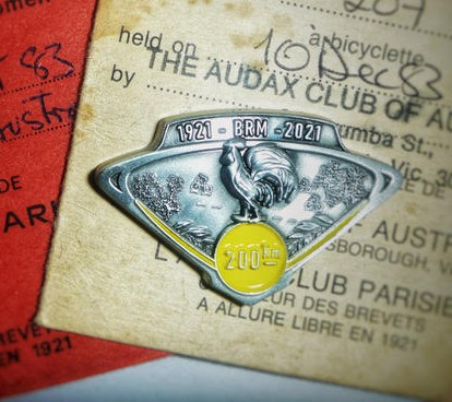 Celebrate 100 years of BRM rides and 40 years of Audax Australia