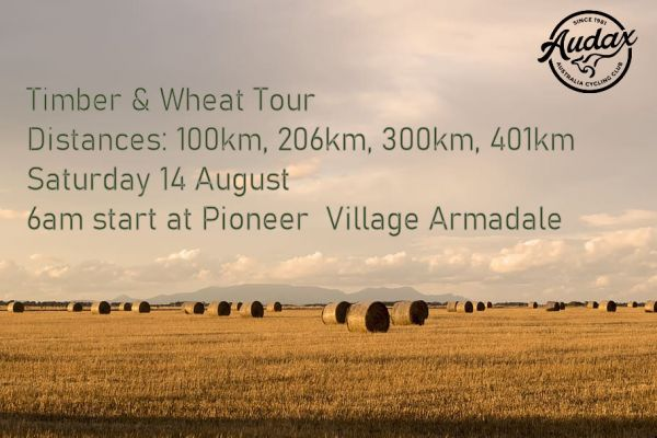 Timber and Wheat Ride 2021